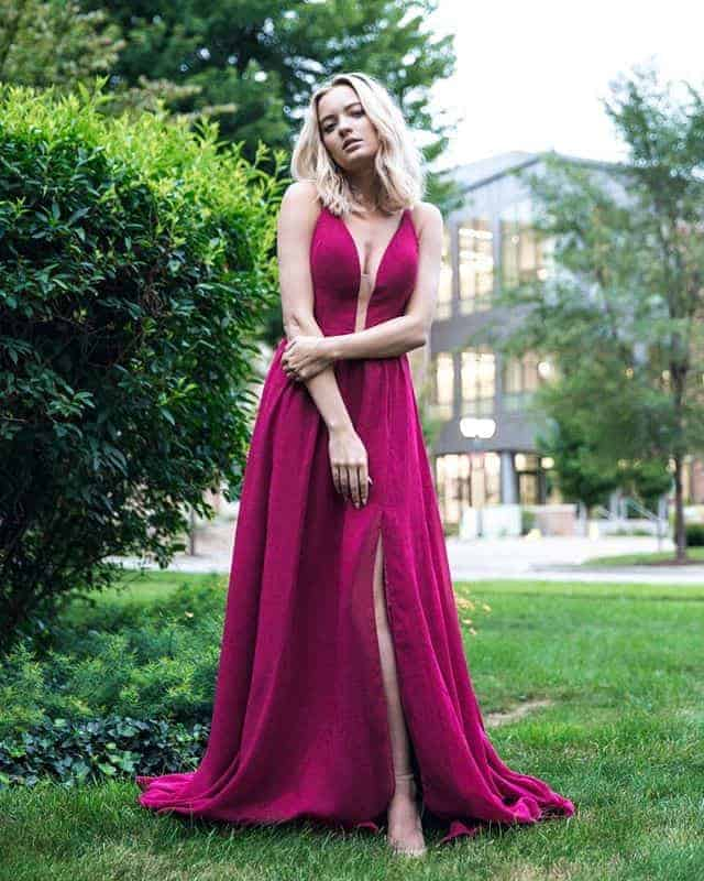 Can I please go back to the days of prom so I can wear this @Madison_James stunner?? #MadisonJamesProm #ad